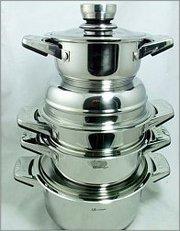 Набор посуды SOLINGEN из хирургической стали