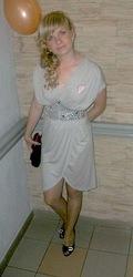 продам серое вечернее платье