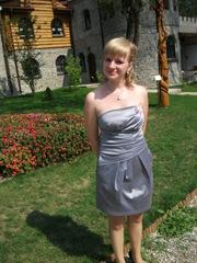 продам короткое серое платье