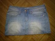 Продам джинсовую юбку идеальное состояние