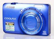 Продам цифровой фотоаппарат Nikon Coolpix S6300,  б/у месяц