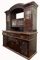 Продам антикварный буфет середины 19 века
