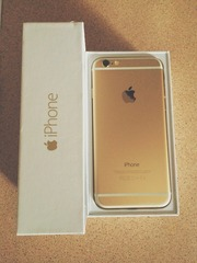 Продам iPhone6 Gold 64 GB,  новый
