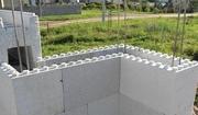Стеновые блоки несъемной опалубки
