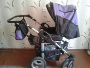 Модульная коляска (2 в 1) RIKO ALPINA (коллекция Sport line)