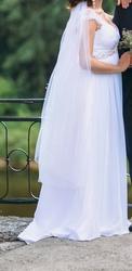 Свадебное платье в греческом стиле из первых рук