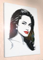 Стильный портрет. Анджелина Джоли