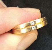 Золотое кольцо 585,  р-р 17, 5. Вес изделия 3, 34 г