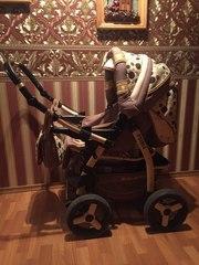 детская коляска б.у в хорошем состоянии , пр-во Польша
