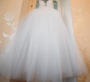 Продам бальное свадебное платье б/у