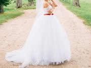 Свадебное платье, пышное