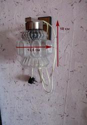 Бра настенное,  1 лампа,  СССР.