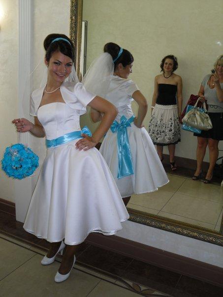 свадебное платье в стиле Стиляги