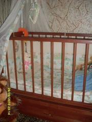Кроватка детская,  б/у,  в идеальном состоянии!!!!